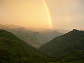 56的美景:象山被彩虹環繞