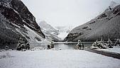 基隆大代誌:加拿大露易絲湖初雪