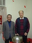 2006年聖誕節公司聚餐:許執行長與王董事合影