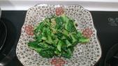 I cook:蒜炒高麗菜苗