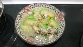 I cook:絲瓜蚵仔