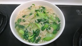 I cook:青江菜炒金針菇