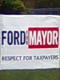 vote for the mayor(助選):rob ford