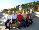 2011年巴塞隆納ITMA紡織機械展參訪團合照:巴塞隆納奎爾公園022.jpg
