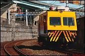 親愛的鐵道:2019/12/24_9986次_EM80綜合軌道檢查車@基隆站接近