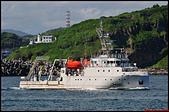 大船入港2019:2019/08/23_RV New Ocean Researcher2_新海研2號@基隆港海試出港a