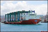 大船入港2019:2019/08/23_Mega Caravan 2_卡樂美@基隆港出港b