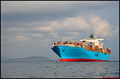 大船入港2019:2019/10/12_Maersk Yamuna_麥司克華威@基隆港進港