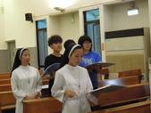 2014.11.27 天學聖詠團&禮儀服務人員 彩排: