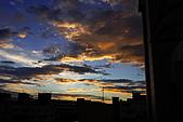 家裡樓頂的火燒雲:DSC_4177.jpg