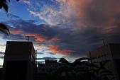 家裡樓頂的火燒雲:DSC_4179.jpg