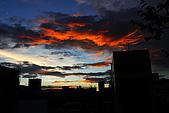 家裡樓頂的火燒雲:DSC_4181.jpg