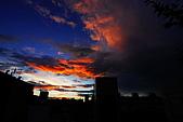 家裡樓頂的火燒雲:DSC_4184.jpg