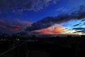 家裡樓頂的火燒雲:DSC_4196.jpg
