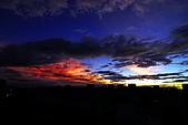 家裡樓頂的火燒雲:DSC_4197.jpg