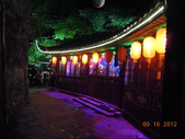 張家界之旅 第二天 晚上:鳳凰古城夜景