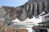黑部立山旅景:水庫洩洪壩