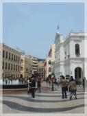 敏敏的生活點滴 1:澳門議事堂廣場