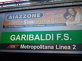 4/5 義大利蜜月旅行(第八天)米蘭:080405-1350Milano Subway.JPG
