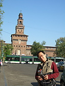 4/5 義大利蜜月旅行(第八天)米蘭:080405-1355Milano Castello Sforzesco史佛薩古堡.JPG