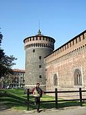 4/5 義大利蜜月旅行(第八天)米蘭:080405-1360Milano Castello Sforzesco史佛薩古堡.JPG