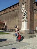 4/5 義大利蜜月旅行(第八天)米蘭:080405-1372Milano Castello Sforzesco史佛薩古堡.JPG