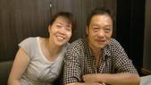 詹高府母親節慶祝會:夫妻難得的合照