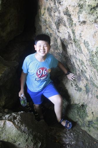 探險成功之哥哥篇 - 2017小琉球之烏鬼洞探險記