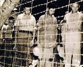 日本投降台灣光復:宣布投降Japanese POWs at Guam bowed their heads after hearing Emperor Showa's surrender announcement, 15 Aug 1945-2.jpg