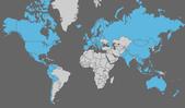 日誌用相簿:visited countries 2011.png