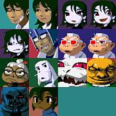 洞窟物語:角色全表情2
