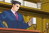 逆轉裁判1~3:[3代]成步堂與咖啡杯
