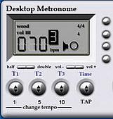網誌文章插圖:Desktop Metronome2