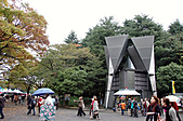 2007 亞洲職棒大賽東京3天2夜之旅_day.2_上野公園:上野公園派出所,連派出所都有藝術氣息