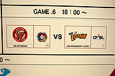 2007 亞洲職棒大賽東京3天2夜之旅_day.2_上野公園:看板就放在大廳旁邊,這比數.....丟人阿~~~