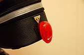 2009.02.25_allay坐墊&Topeak包:車燈是用NIKE跑步臂燈