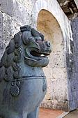 2007年8月30日~9月2日_沖繩之旅_Day2:歡會門的Shi-sa(美軍為摧毀日軍總部,不得不轟炸首里城)