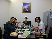 97.12.29 羊肉爐+Wii Party:好吃的蝦子~活跳跳~