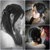 2013-1999服務過的整體造型:小琪/精緻妝+髮