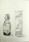 画筆練習生1-10:2酒瓶等柱狀鉛筆素描20160310.jpg