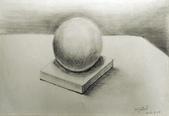 画筆練習生1-10:3石膏球鉛筆素描.jpg