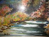 油畫的世界:秋...瀟灑揮筆