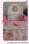 拼布手作包:粉玫瑰水玉小提包-2