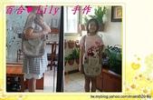 拼布手作包:咖啡水玉草莓園兩用包-5