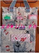 拼布手作包:海洋風 i pad 專用袋 2