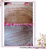 拼布手作包:粉玫瑰水玉小提包-3