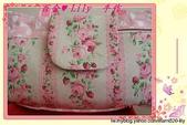 拼布手作包:粉玫瑰水玉小提包-4
