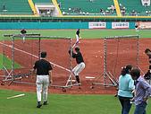 2005.07.21 嘉義棒球場:鄧蒔陽練打