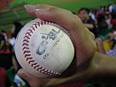 2005.07.21 嘉義棒球場:撿到界外球