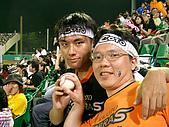 2005.07.21 嘉義棒球場:撿到界外球一顆